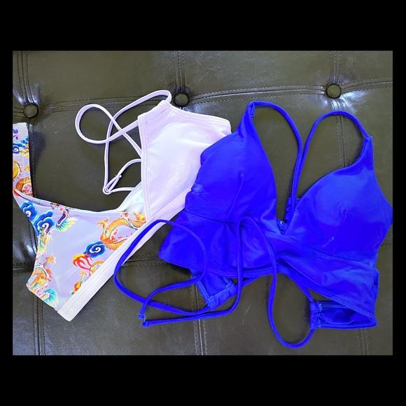 SHEIN Other - Bundle of 2 Bikini Tops size sm/med